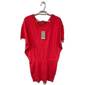 🆕 Bench Red Cotton Dress - Women's Size Medium
